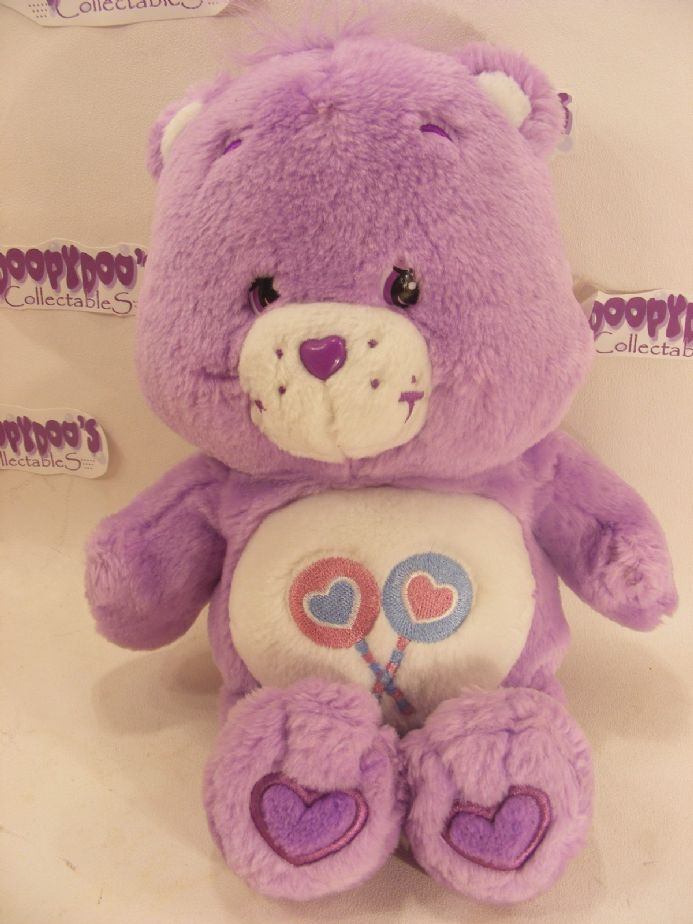 "MODERN 12"" SHARE CAREBEAR CARE BEARS"